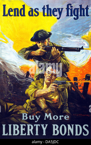 La Prima Guerra Mondiale La Prima guerra mondiale, la prima guerra mondiale, guerra mondiale, guerra, l'Europa, Foto Stock