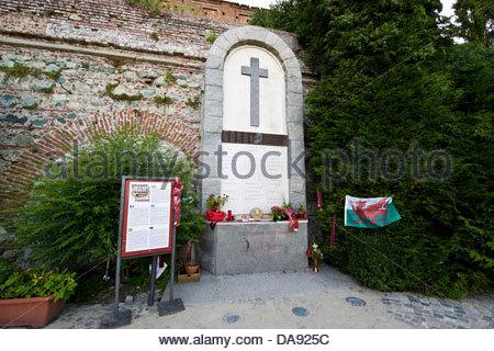 """L'Italia,Piemonte,la Basilica di Superga,'Grande Torino calcio """" memorial Foto Stock"""