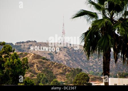 Hollywood Sign, Los Angeles, California, Stati Uniti d'America Foto Stock