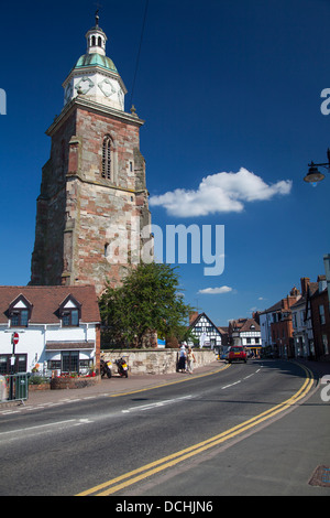 'L'Pepperpot', Upton-Upon Severn, Worcestershire, Inghilterra Foto Stock