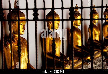 Buddha in Wat Pho tempio Foto Stock