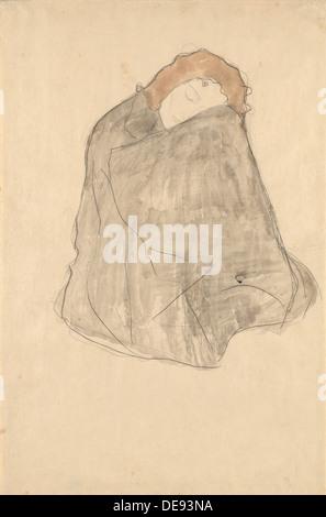 Donna seduta, 1908-1909. Artista: Klimt, Gustav (1862-1918)