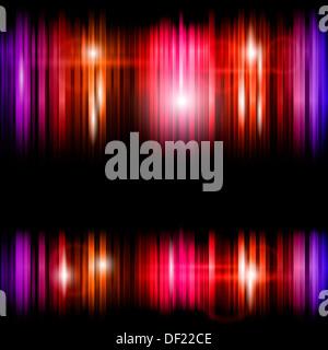 Abstract lucide linee colorate sullo sfondo Foto Stock