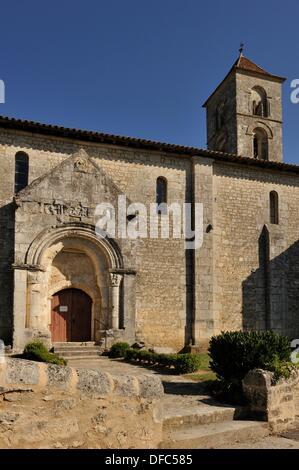 Chiesa di Saint-Georges de Montagne, Gironde reparto, regione Aquitania, a sud-ovest della Francia, Europa Foto Stock