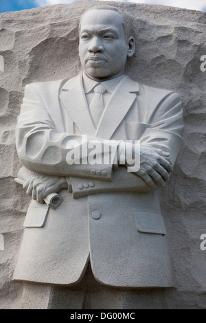 Il MLK Martin Luther King Jr monumento commemorativo statua in West Potomac Park sul National Mall di Washington, D.C.