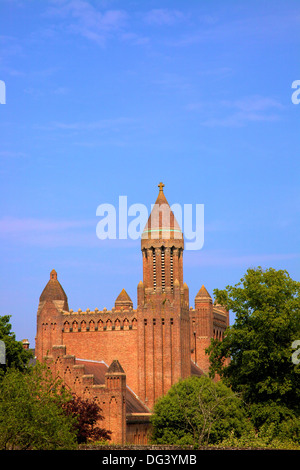 Quarr Abbey, Ryde, Isle of Wight, England, Regno Unito, Europa Foto Stock