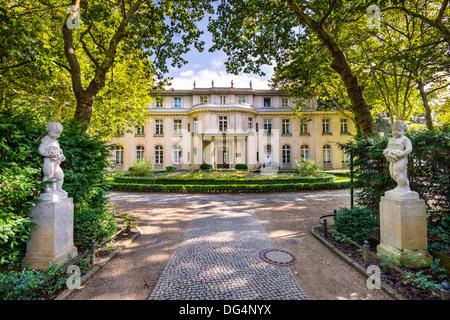 Casa Wannsee a Berlino, Germania. Foto Stock