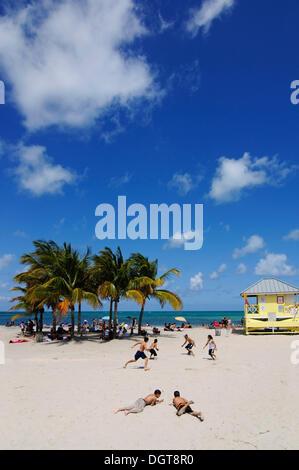 Crandon Park di Key Biscayne, Miami, Florida, Stati Uniti d'America Foto Stock