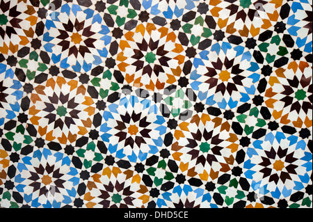 Marocchino piastrella mosaico decorazione ceramica della moschea di