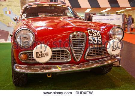 1959 Alfa-Romeo Giuilieta Sprint Foto Stock