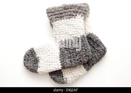 calzini di lana Foto Stock