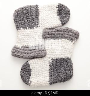 Calze di lana,abbigliamento invernale Foto Stock