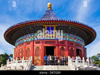 Tian Tan, Tempio del Paradiso, Imperial vault del cielo, Pechino, Repubblica popolare cinese, Repubblica Popolare Foto Stock