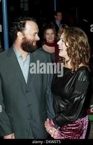 TOM HANKS e Rita Wilson ''MOGLIE''.miglio verde Premiere mondiale.11/12/1999.V35G27