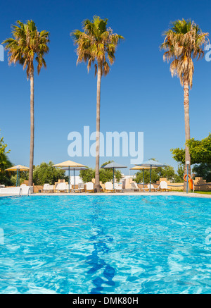 Tropical resort Foto Stock