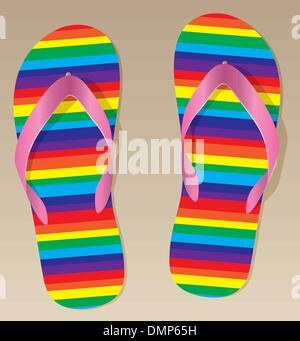 Vector flip flop Foto Stock