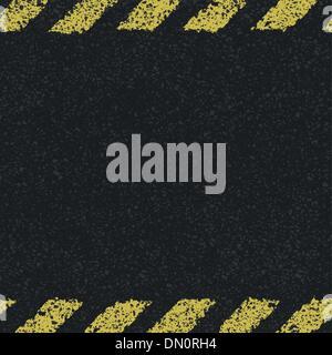 Luci di linee gialle dello sfondo. Illustrazione vettoriale EPS8 Foto Stock