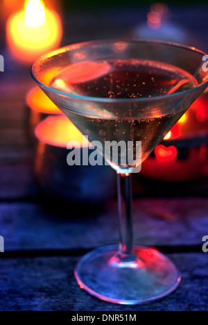 Champagne al fresco / Fizz Foto Stock