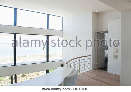 Il lusso moderno appartamento loft interni d rendering concept