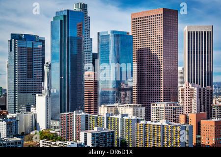 Los Angeles, California, Stati Uniti d'America downtown cityscape. Foto Stock