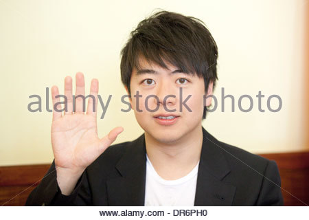 Close-up di Lang Lang 12 giugno 2012 Foto Stock