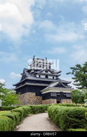 Matsue Castello, Matsue, prefettura di Shimane, Giappone Foto Stock