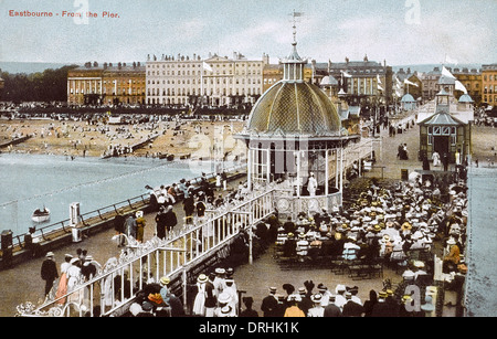 Il Molo - Eastbourne, East Sussex, Inghilterra. Foto Stock