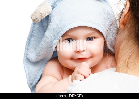 Azienda madre baby Foto Stock