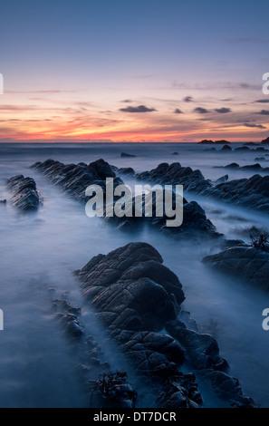 Hartland Quay, Devon, Regno Unito Foto Stock