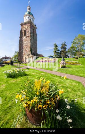 Il Centro del Patrimonio Upton su Severn Worcestershire Inghilterra REGNO UNITO Foto Stock