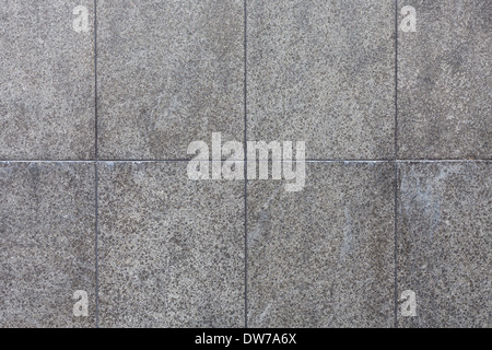 Nuova e moderna parete calcarea closeup come sfondo Foto Stock