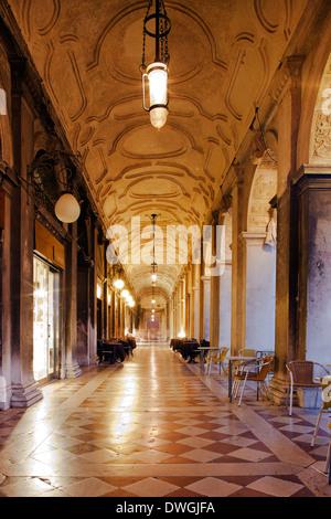 Biblioteca Nazionale di San Marco a Piazetta San Marco, Venezia; La Biblioteca Nazionale Marciana, Venezia Foto Stock