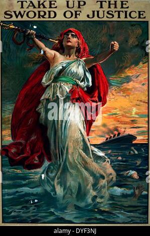 """Durante la Seconda Guerra Mondiale poster """"Legami vittoria aiuterà a fermare questo"""". Foto Stock"""