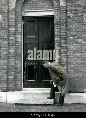 Il 12 Dic. 1966 - ~1.500.000 Arte rapina su Dulwich Gallery i mondi più grande mai Haul Immagine: più grandi del Foto Stock