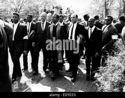 Esequie del reverendo Martin Luther King Jr. Foto Stock