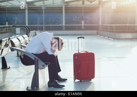 ritardo del volo Foto Stock
