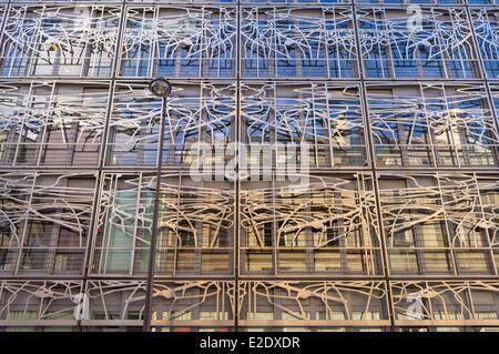 Francia Paris il Ministero della Cultura e della comunicazione progettato dagli architetti Francesco Soler e Frédéric Druot Foto Stock