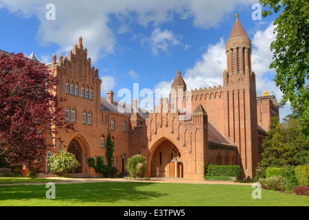 Quarr Abbey, Isle of Wight, England, Regno Unito Foto Stock