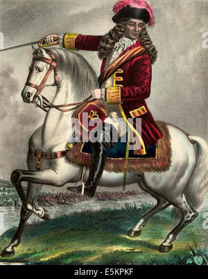William III., principe di Orange, presso il Centro Visitatori della Battaglia del Boyne. 1690