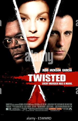 TWISTED, Samuel L. Jackson, Ashley Judd, Andy Garcia, 2004, (c) Paramount/cortesia Everett Collection Foto Stock
