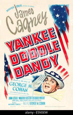 YANKEE DOODLE DANDY, James Cagney, 1942. Foto Stock