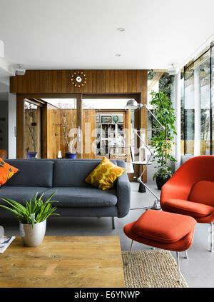 Soggiorno di High Barnet casa famiglia, Londra da Paolo Archer ...