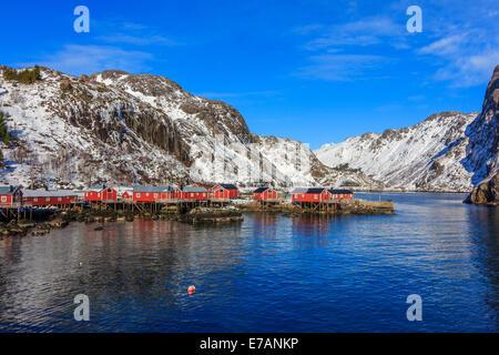 Il villaggio di pesca nelle Isole Lofoten