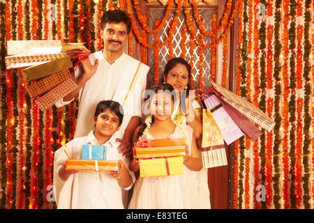 Indian Festival Diwali shopping Foto Stock
