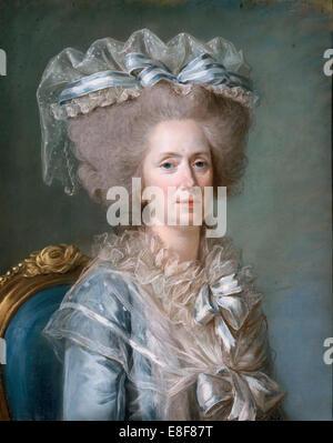 La principessa Marie Adélaïde della Francia (1732-1800). Artista: Labille-Guiard, Adélaïde (1749-1803) Foto Stock