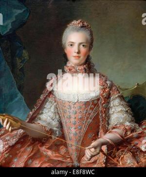 La principessa Marie Adélaïde della Francia (1732-1800). Artista: Nattier, Jean-Marc (1685-1766) Foto Stock