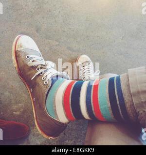 Stati Uniti d'America, Tennessee Davidson County, Nashville, gambe in calze pazzo Foto Stock