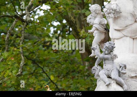 Abbazia di Heiligenkreuz. Angeli. Foto Stock