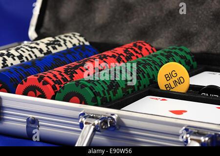 Insieme di chip e carte