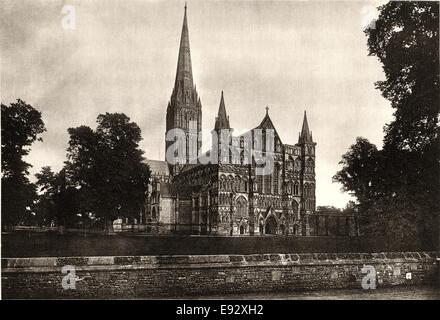 La Cattedrale di Salisbury, Salisbury, England, Regno Unito